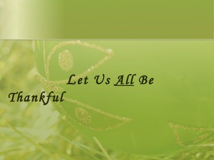 Thanksgiving 2008 Slide 2