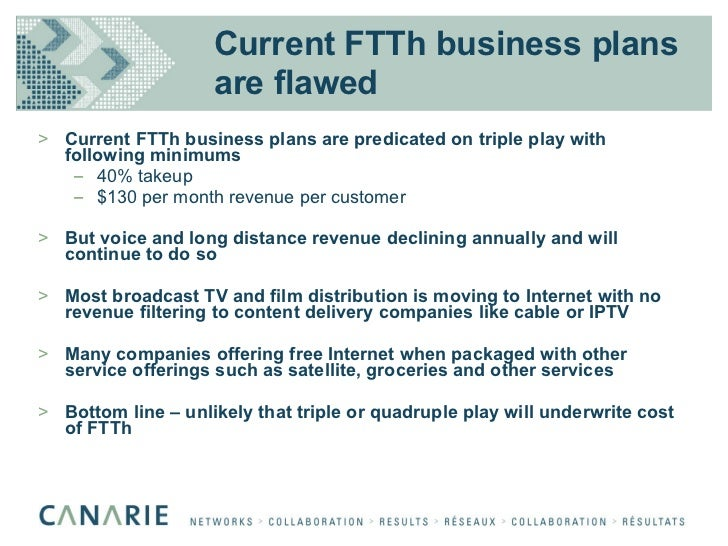 Ftth business plan