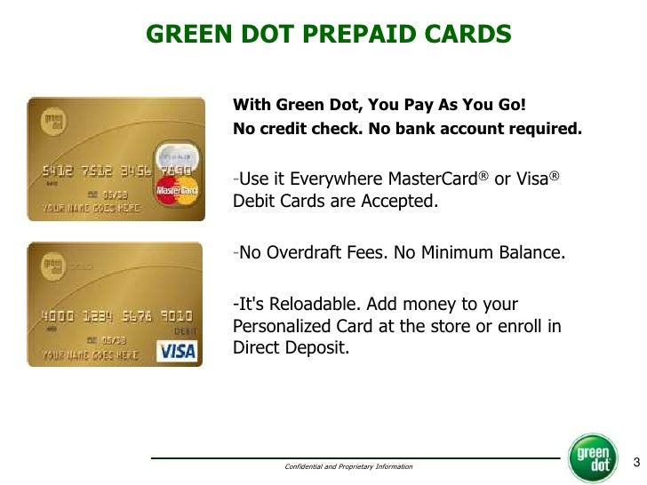 green dot - Green Dot Visa Debit Card