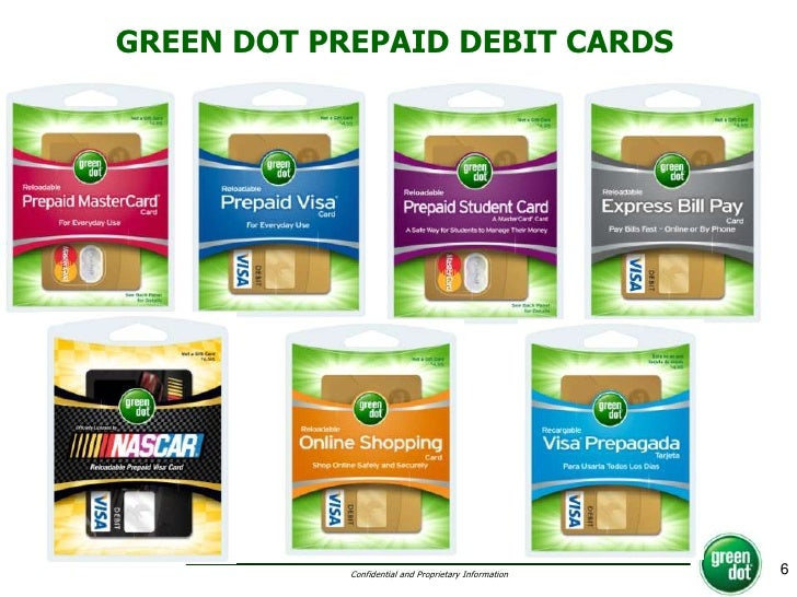 Green Dot Card