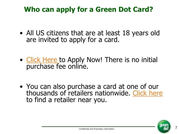 Green Dot Pdf