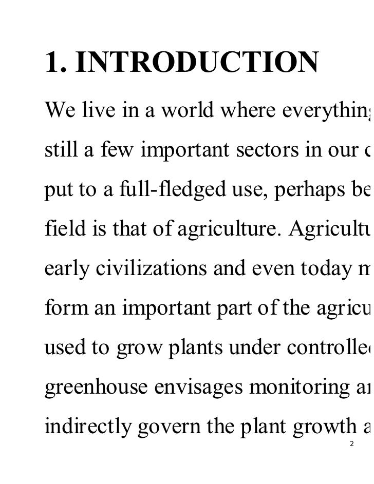 Green-house-environment-control Slide 2