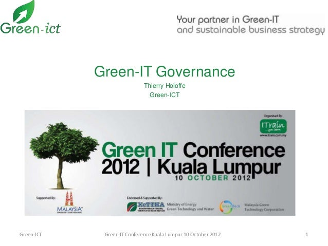 Green-IT Governance                             Thierry Holoffe                               Green-ICTGreen-ICT    Green-...