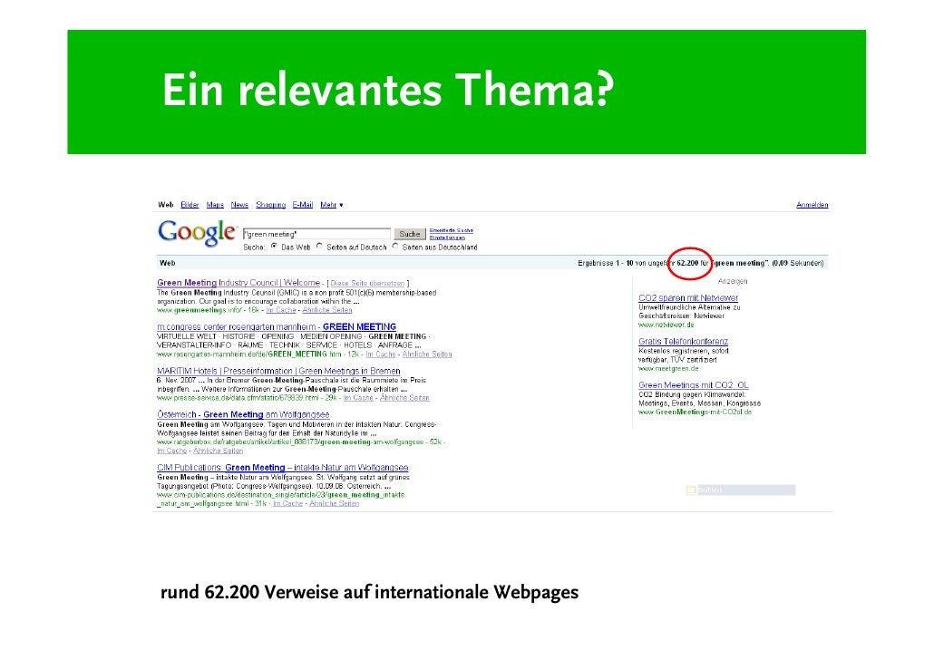 Ein relevantes Thema?     rund 1.230 Verweise auf deutsche Webpages