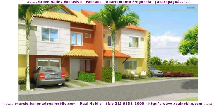 Green Valley Exclusive - Fachada - Apartamento Freguesia - Jacarepaguá <<click                 clique>>                mar...