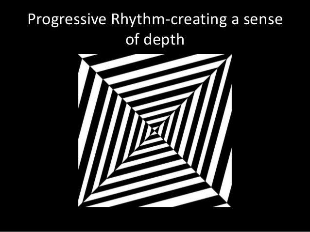 Progressive Rhythm-creating a sense of depth