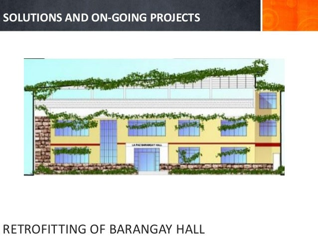 Green Urban Design For Brgy Lapaz Makati City Philippines