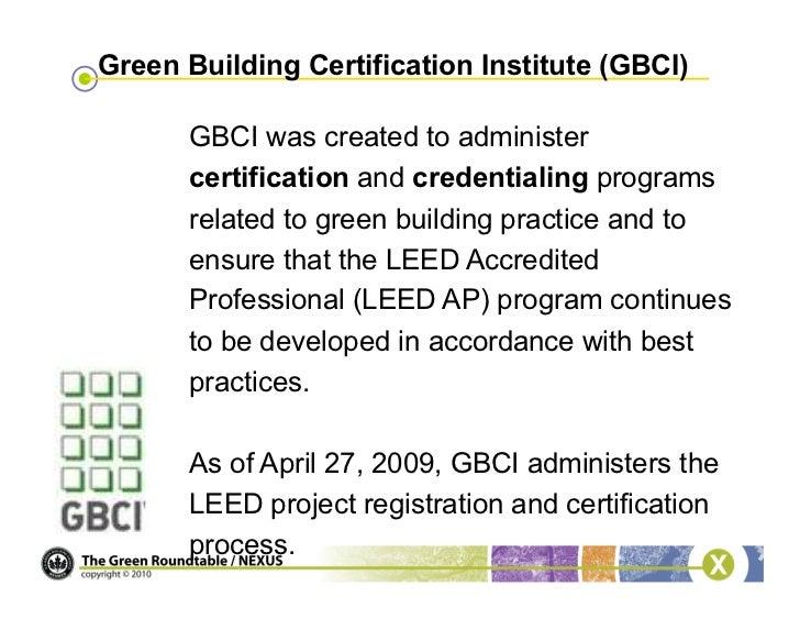 Webinar Become A Leed Green Associate
