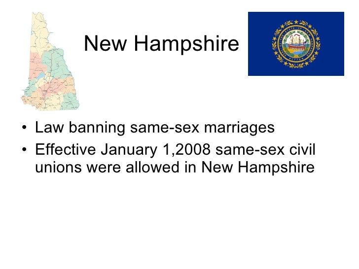 Nj law on gay marrage