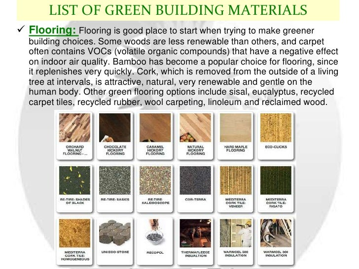 Green building for Sustainable roofing materials
