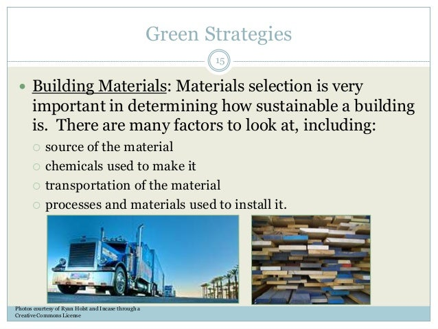 Green building 101 episode 1 introduction to green building 15 green strategies building materials sciox Images