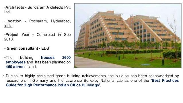 Green building delhi case study