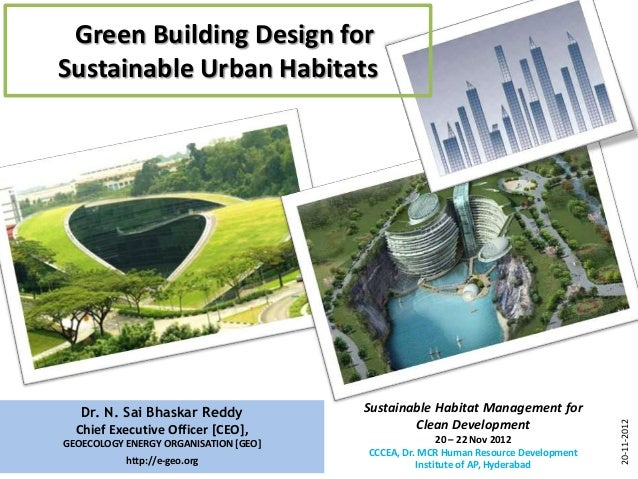 Green Building Design forSustainable Urban Habitats                                                                       ...