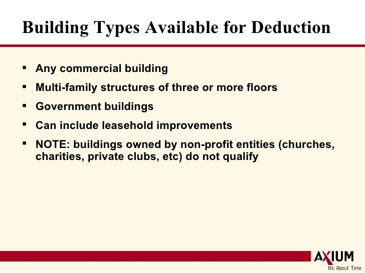 A e tax deductions for green building for Tax deduction for home improvements