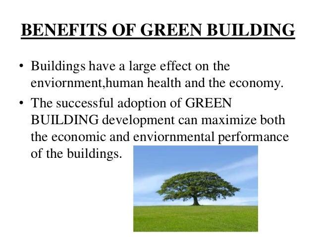 ... Conserve natural resources; 19. ECONOMIC BENEFITS ...