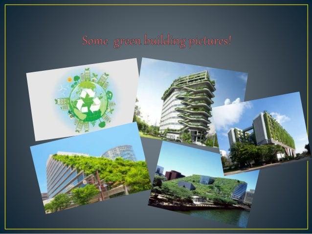 #SciChallenge2017Green buildings