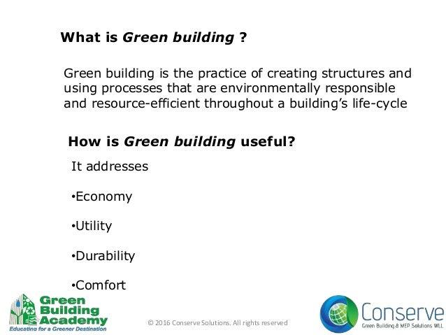 Green buildings in qatar Slide 2