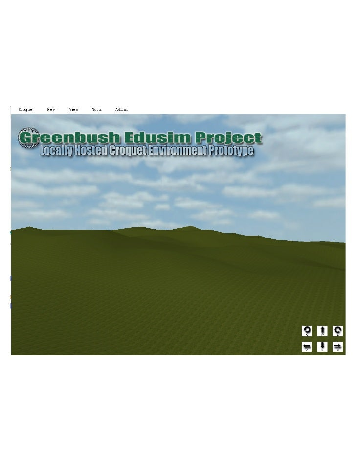 Greenbush Edusim Project with Croquet