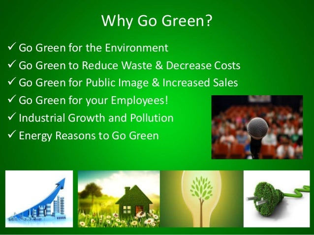 Why Businesses Should Go Green
