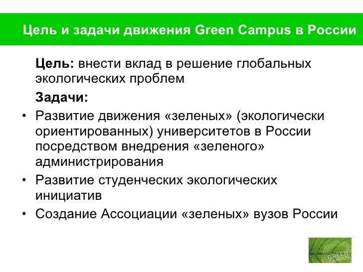 Green campus   базовая презентация