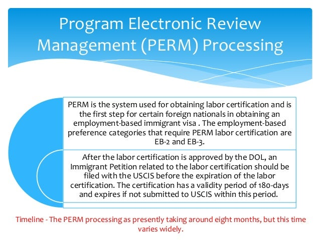Green Card Process Under Employment Category EB2 EB3 with ATC