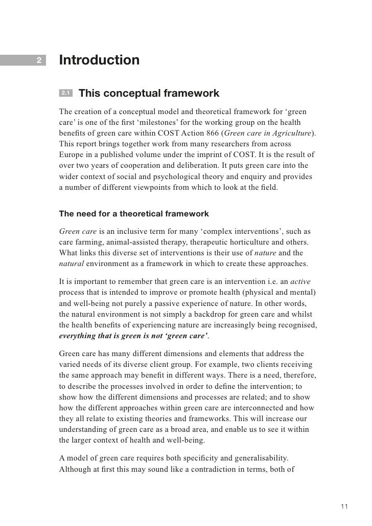 why conceptual framework is considered I've gotten several requests to explain what a theoretical framework really is and how it's different than a conceptual model this post will cover why theoretical frameworks and conceptual models are important in nursing, explain the difference between the two, and provide a simple example of how research is used to test theoretical .