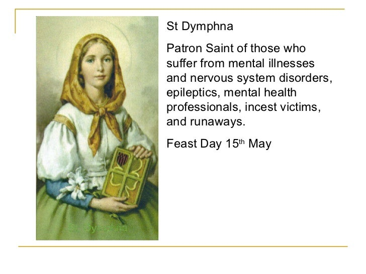 Who is the patron saint of sickness