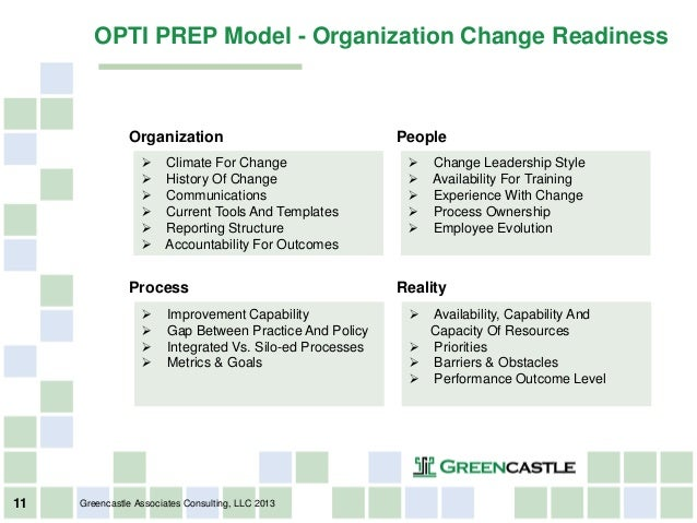 change impact assessment template - greencastle readiness assessment webinar 14 aug13