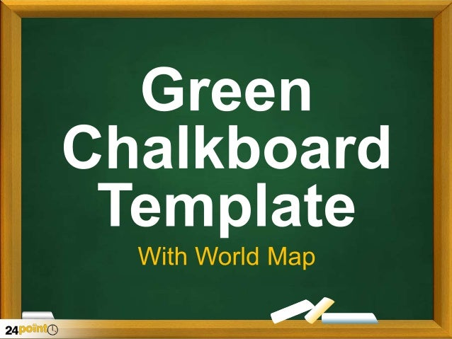green chalkboard template. Black Bedroom Furniture Sets. Home Design Ideas