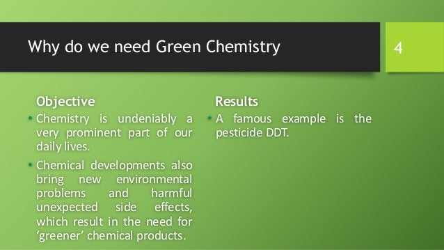 the importance and application of green chemistry Green chemistry in our stores the application of green chemistry concepts is becoming more widespread the green chemistry and consumer.