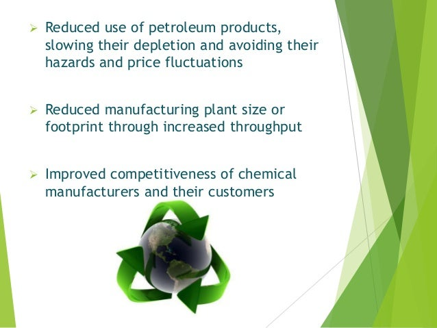 Reduced use of petroleum products, slowing their depletion and avoiding their hazards and price fluctuations  Reduced m...