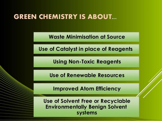 green chemistry essays William mcdonough is an architect and globally recognized  mcdonough receives the us epa presidential green chemistry challenge award from president george w.