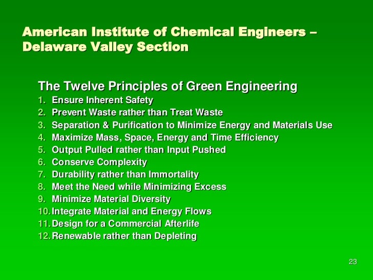green chemistry  u0026 engineering