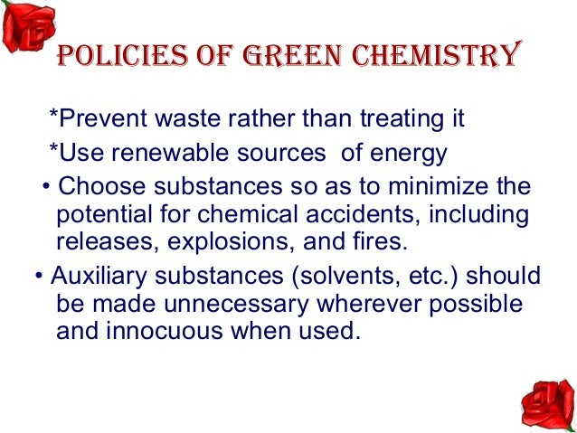 formaldehyde in green chemistry In recent years much effort has been devoted to assessing the influence of tobacco ingredients on the chemistry and  is formaldehyde,  green (2003), and.