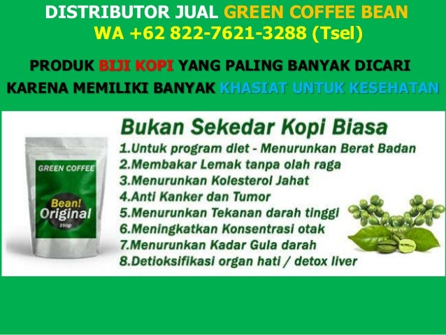 Agen Resmi Green Coffee Indonesia