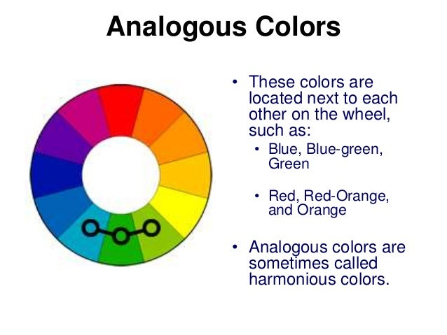 Analogous Colors O These Are