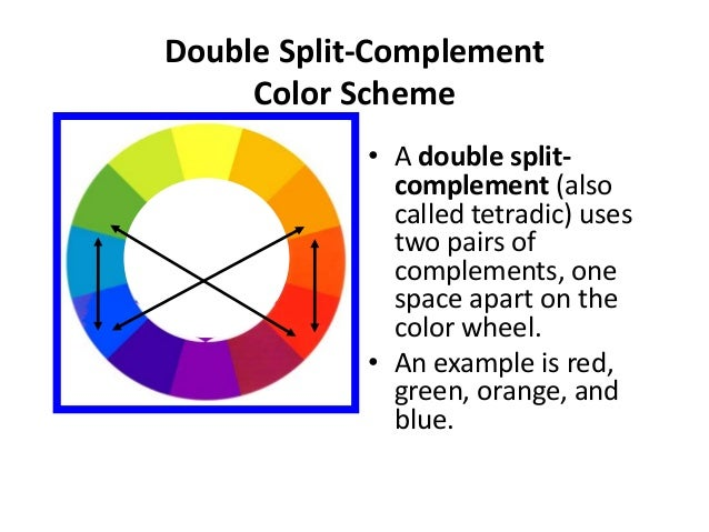 27 Double Split Complement Color Scheme