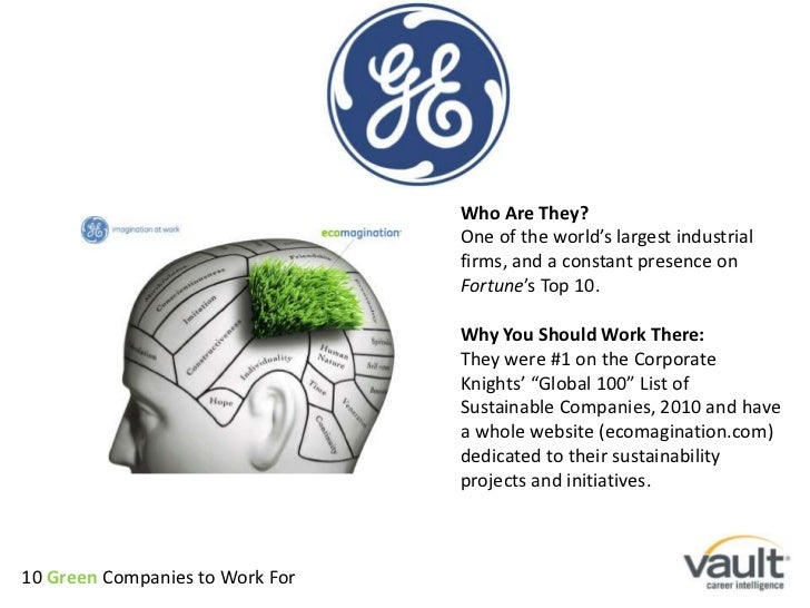 Who Are They?<br />One of the world's largest industrial firms, and a constant presence on Fortune's Top 10.<br />Why You ...