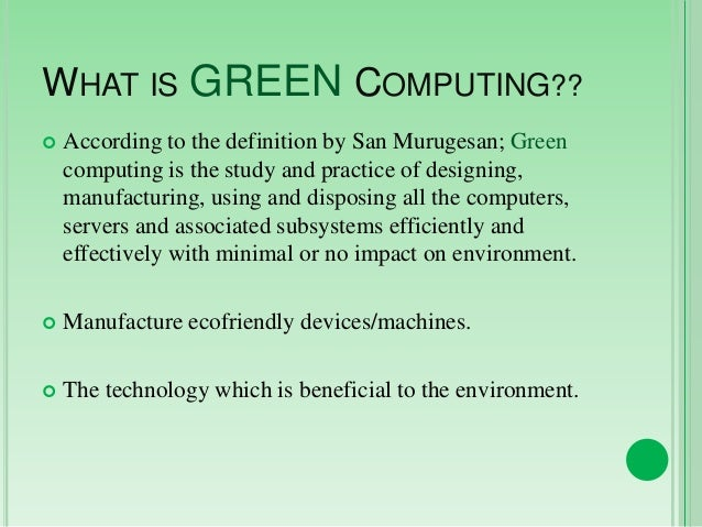 introduction to green computing Green mountain computing systems, inc site includes a free vhdl tutorial, free vhdl evaluation software, and product information about its professional vhdl.