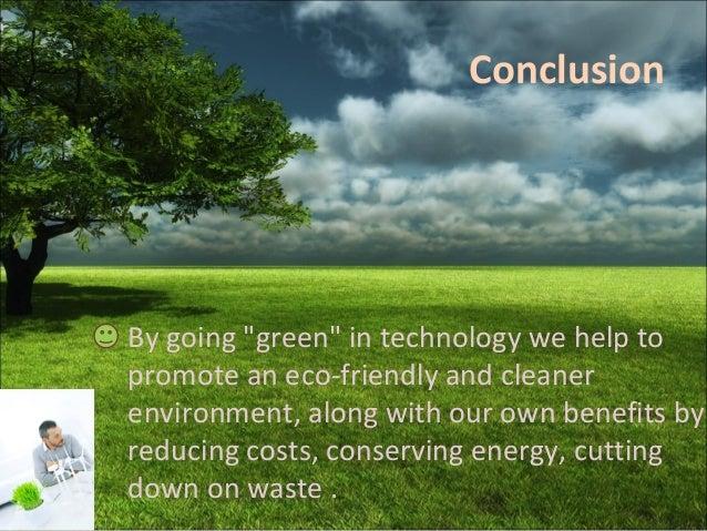 Going green eco friendly practises politics essay