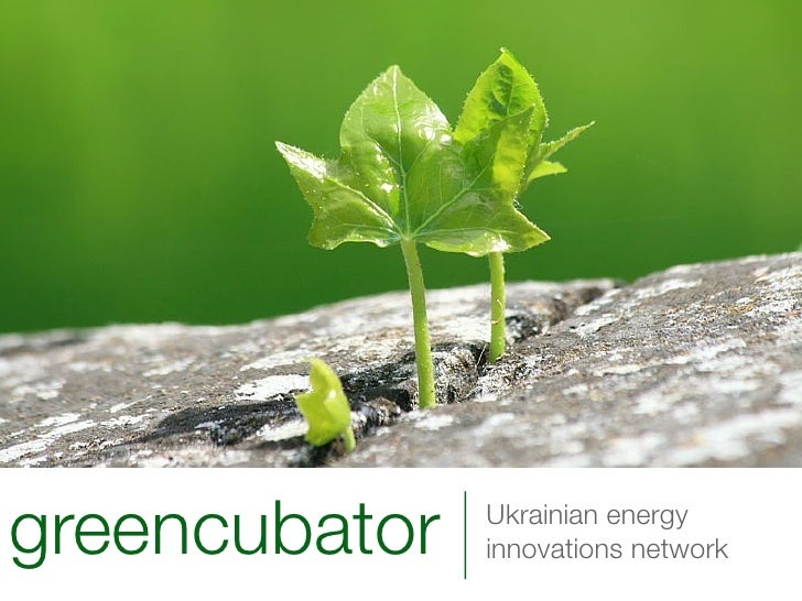 greencubator   Ukrainian energy                innovations network