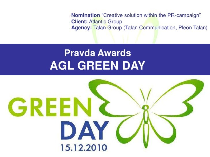 "<ul><li>Nomination ""Creative solution within the PR-campaign"""
