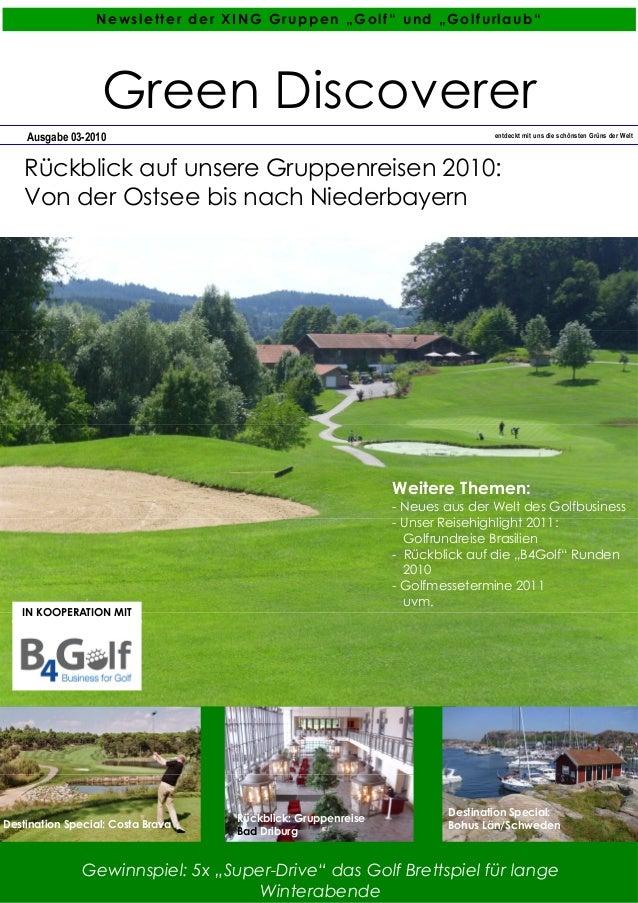 """Gewinnspiel: 5x """"Super-Drive"""" das Golf Brettspiel für lange Winterabende Ausgabe 03-2010 entdeckt mit uns die schönsten Gr..."""