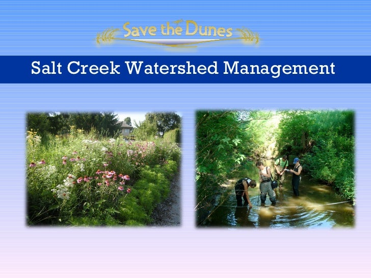 Salt Creek Watershed Management