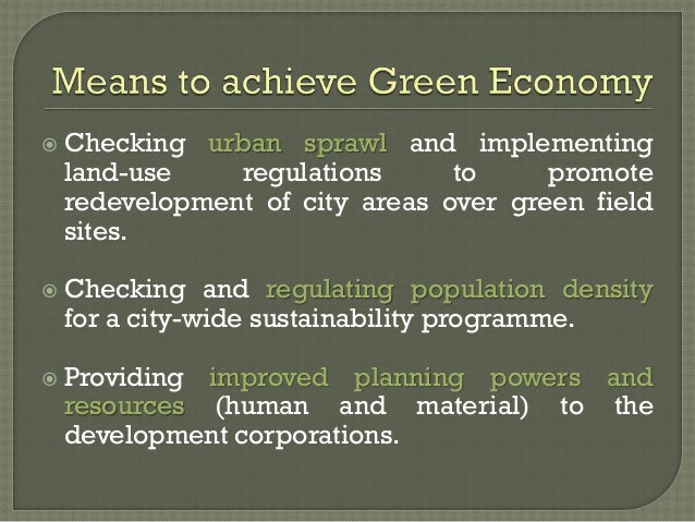 green economy and sustainable development pdf