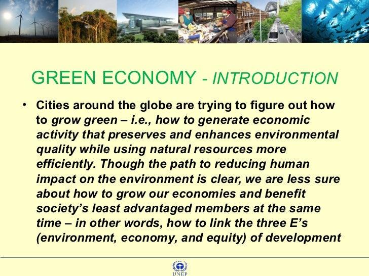 Green Economy  Slide 3