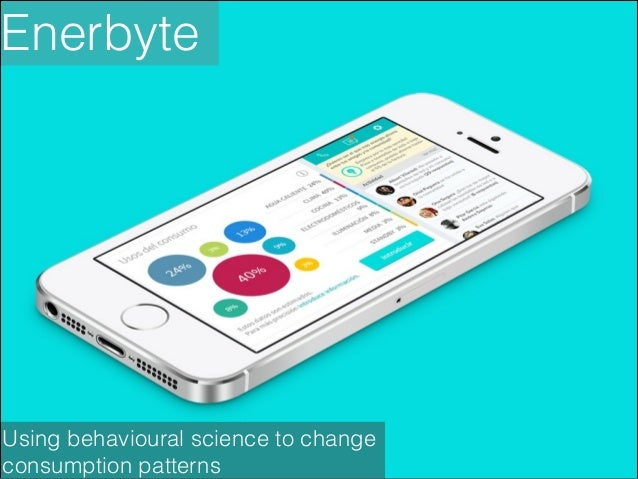 Enerbyte  Using behavioural science to change consumption patterns