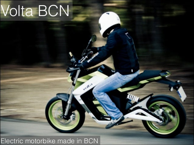 Volta BCN  Electric motorbike made in BCN