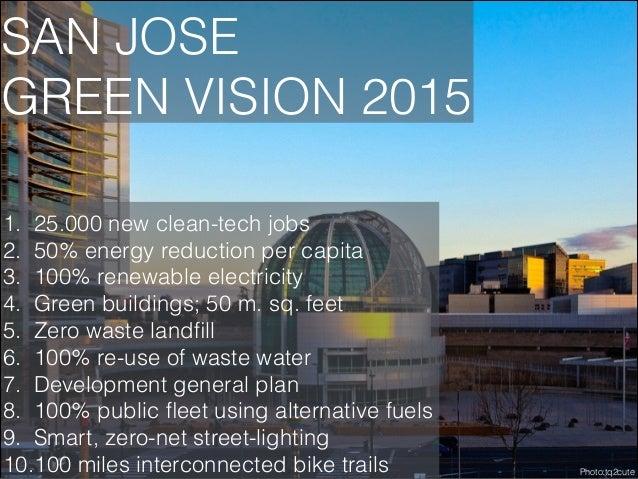 INCUBATORS  1. San Jose Environmental Business Centre (public) 2. Plug & Play (private)