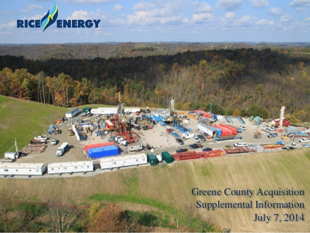 1 Greene County Acquisition Supplemental Information July 7, 2014
